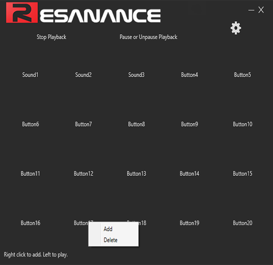 Resanance | Soundboard